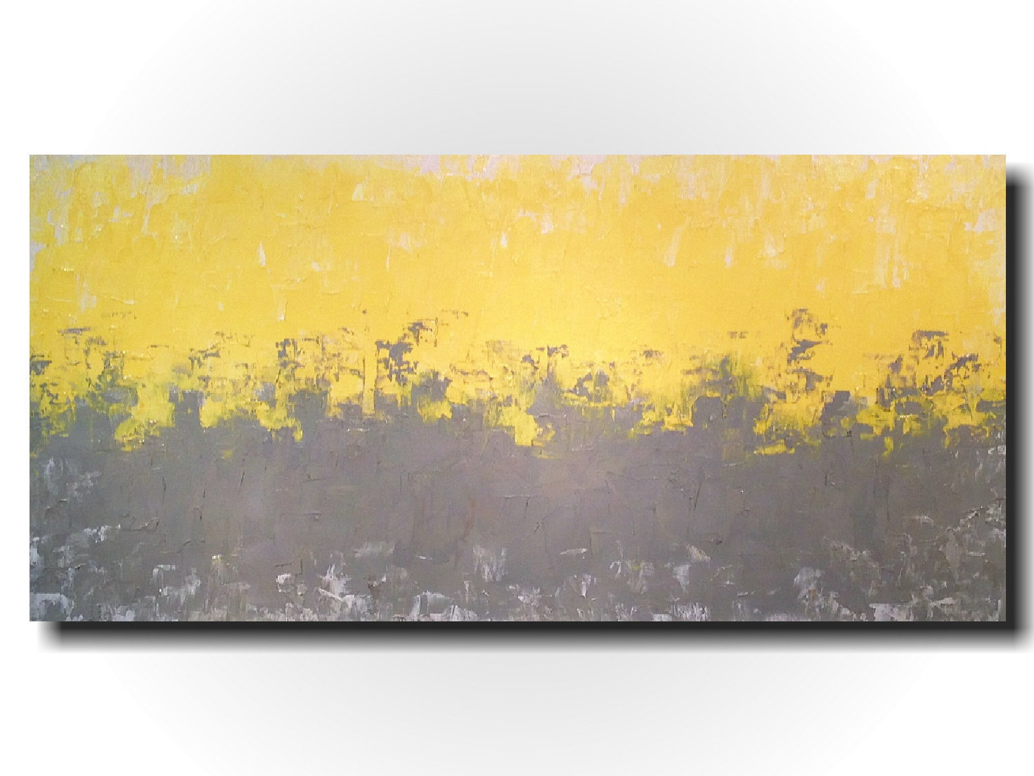 Dorable Yellow Gray Wall Decor Photo Art Hecatalog Info
